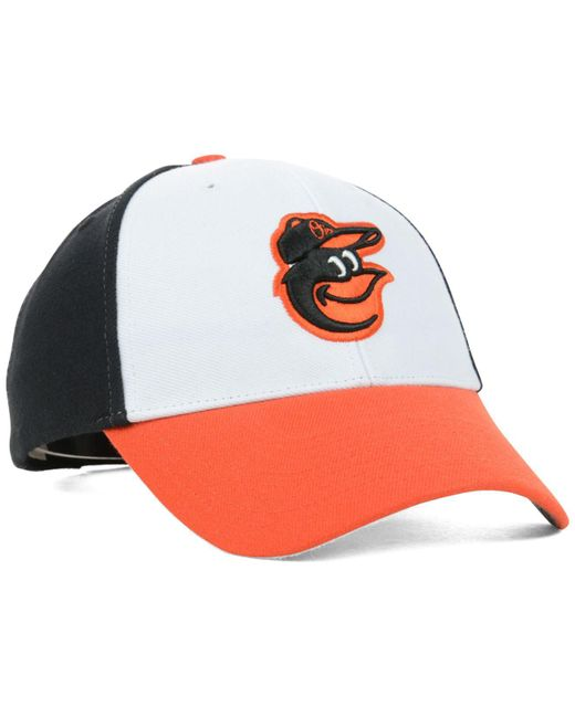 wholesale dealer 0985e b6746 norway 47 brand black baltimore orioles mlb mvp curved cap for men lyst  23342 4cb56