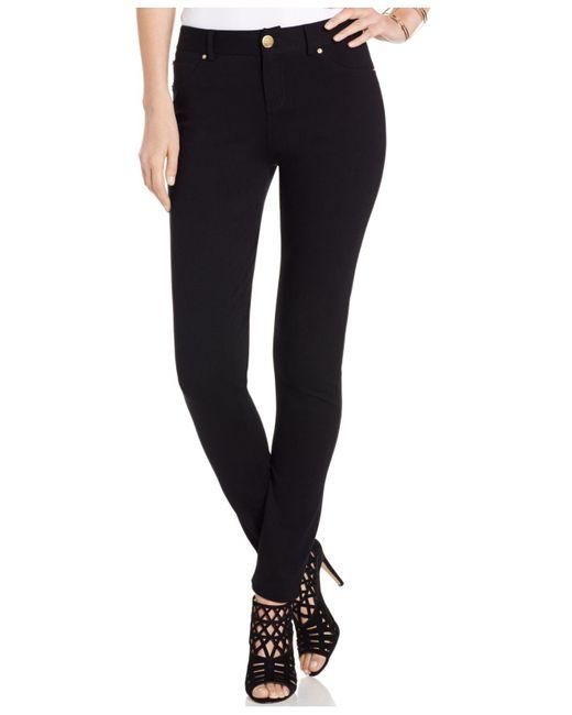 INC International Concepts - Black Petite Skinny-fit Ponte Pants - Lyst