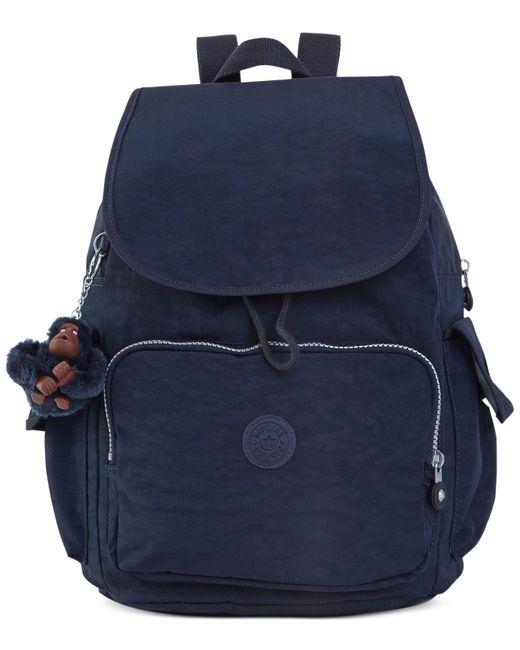 Kipling - Blue City Pack Backpack - Lyst