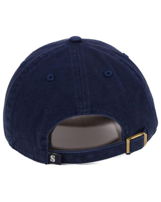 sports shoes c9c57 d9c9b usa 47 brand blue seattle mariners axis clean up cap for men lyst b1e71  fc383