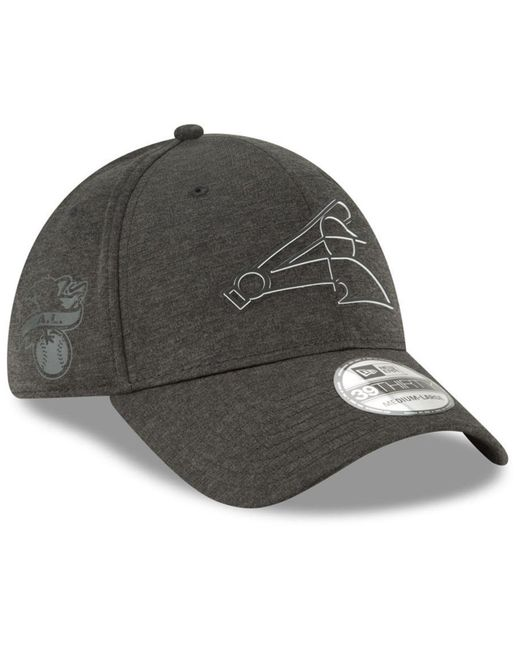 new product 38c3e d6b00 ... canada ktz black chicago white sox clubhouse 39thirty cap for men lyst  3fb93 df68f