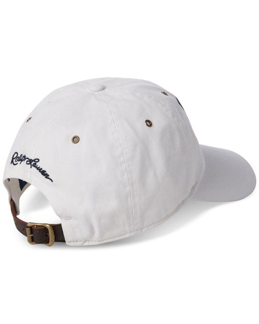 c3763fa7 Lyst - Polo Ralph Lauren Iconic Cap in White for Men - Save 41%