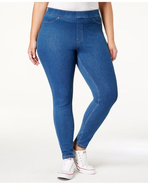 Hue   Blue Original Jean Plus Leggings   Lyst