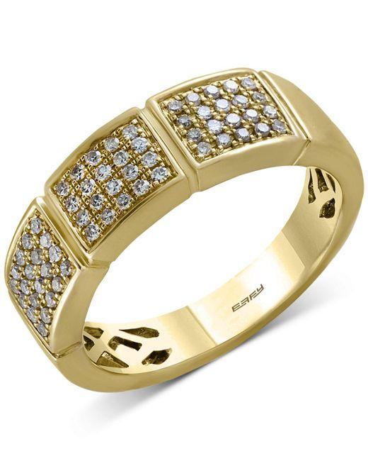 Effy Collection | Metallic Diamond Ring (1/4 Ct. T.w.) In 14k Gold | Lyst