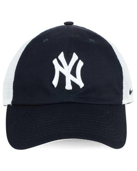 ... Nike - Blue New York Yankees Dri-fit Mesh Swoosh Adjustable Cap for Men  ... f94c7b29da3d