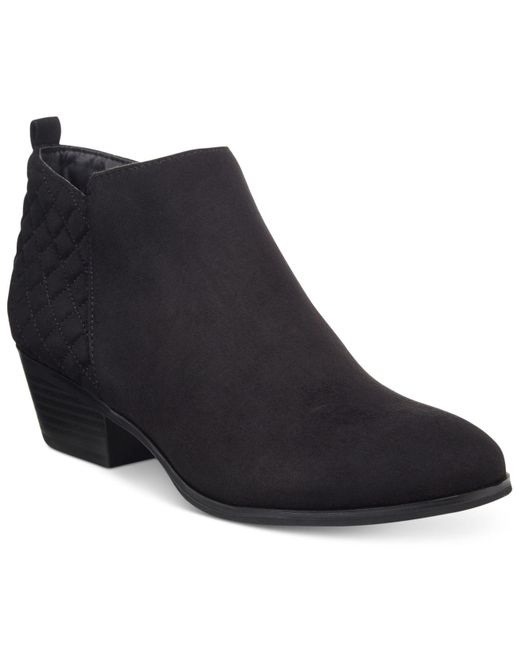Style & Co. | Black Wessley Casual Booties | Lyst
