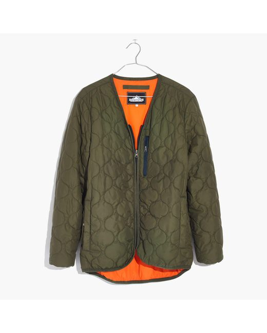Madewell | Green Penfield® Oakham Quilted Liner Jacket | Lyst