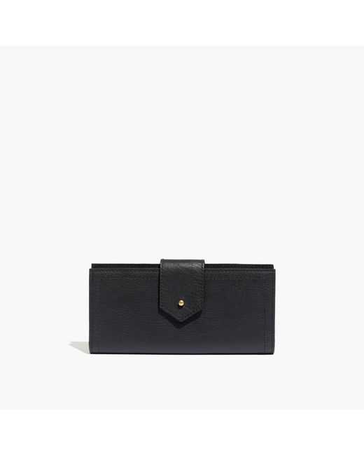 Madewell | Black The Post Wallet | Lyst