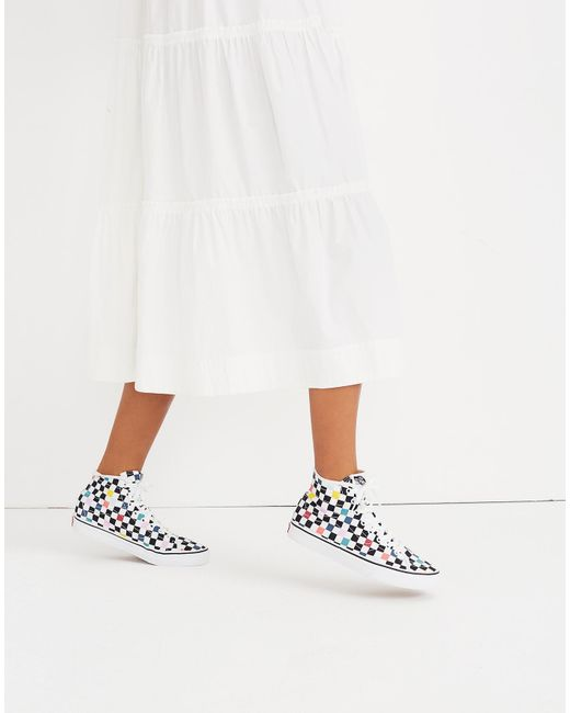d78b25fe7a ... Madewell - Multicolor Vans Unisex Sk8-hi Decon High-top Sneakers In  Party Checkerboard ...