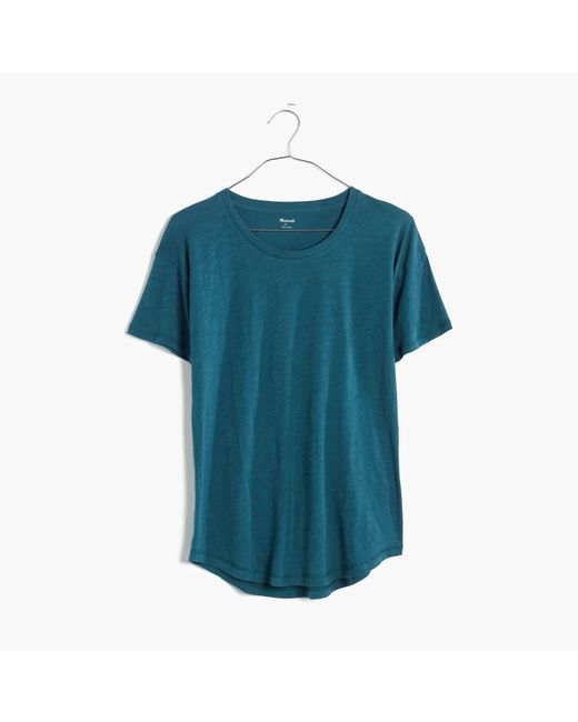 Madewell | Blue Whisper Cotton Crewneck Tee | Lyst