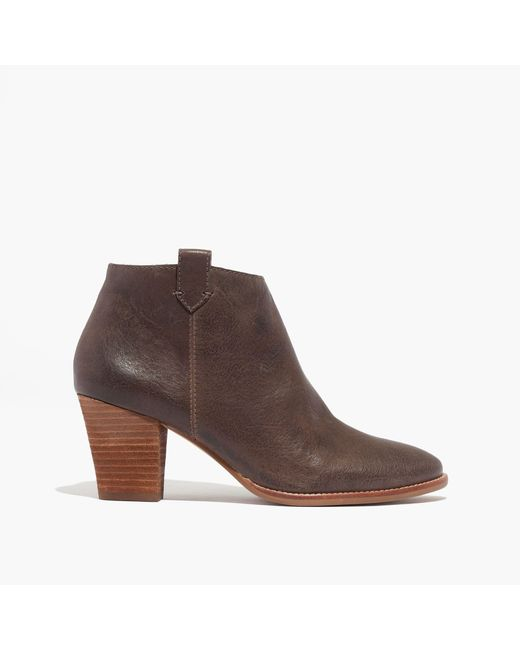 Madewell | Brown The Billie Boot | Lyst