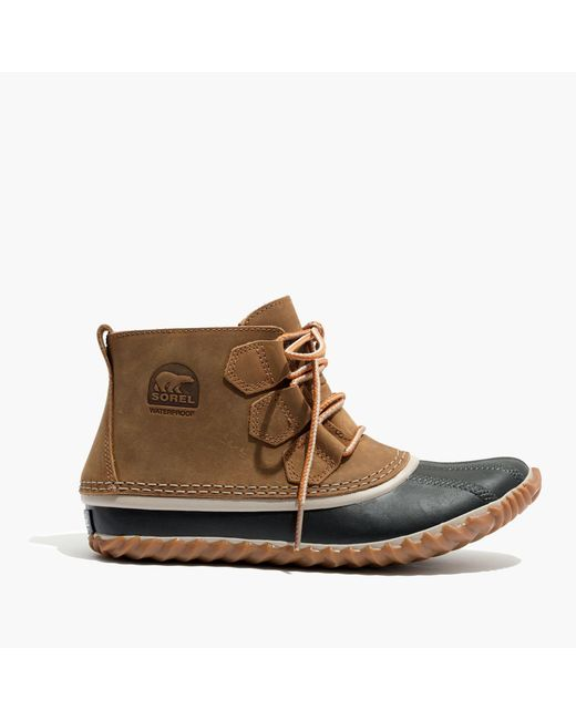 Madewell   Brown Sorel® Out And About Boots   Lyst