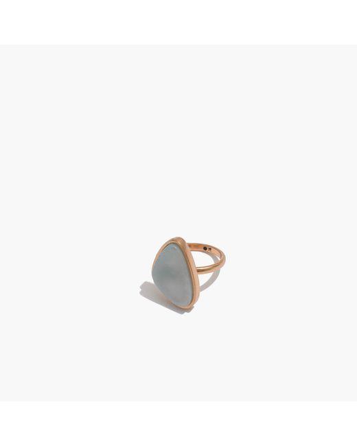 Madewell | Metallic Foretell Ring | Lyst