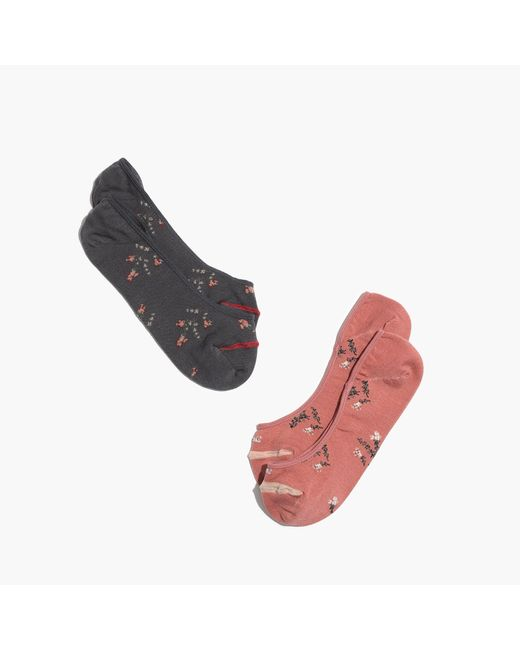 Madewell | Multicolor Two-pack Wild Botanica Low-profile Socks | Lyst