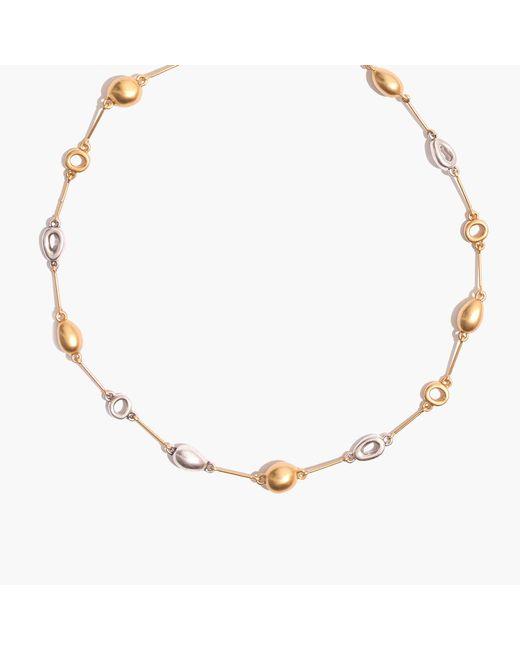 Madewell | Metallic Sestina Toggle Necklace | Lyst