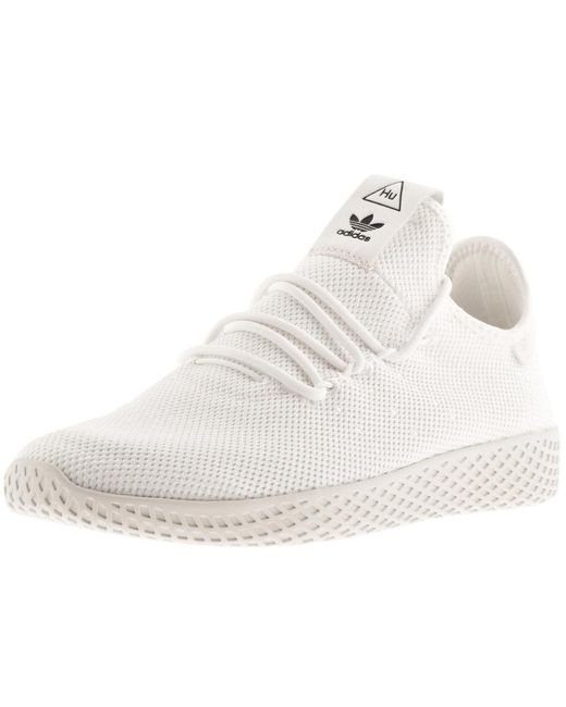 c9403aa3765d3 Adidas Originals - White Adidas X Pharrell Williams Tennis Hu Trainers for  Men - Lyst
