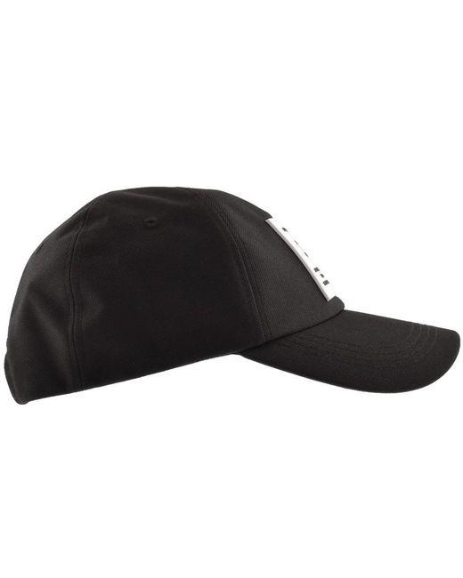 d7f9a3a8341 Lyst - Tommy Hilfiger Flag Logo Cap Black in Black for Men