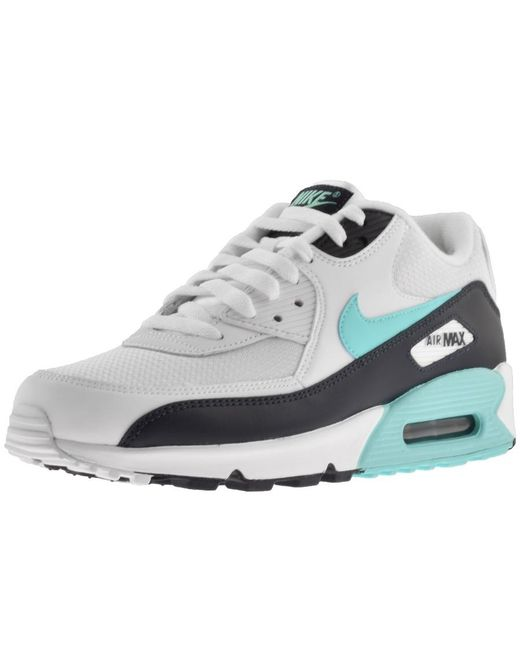 wholesale dealer 72569 7bbec Nike - Air Max 90 Essential Trainers White for Men - Lyst
