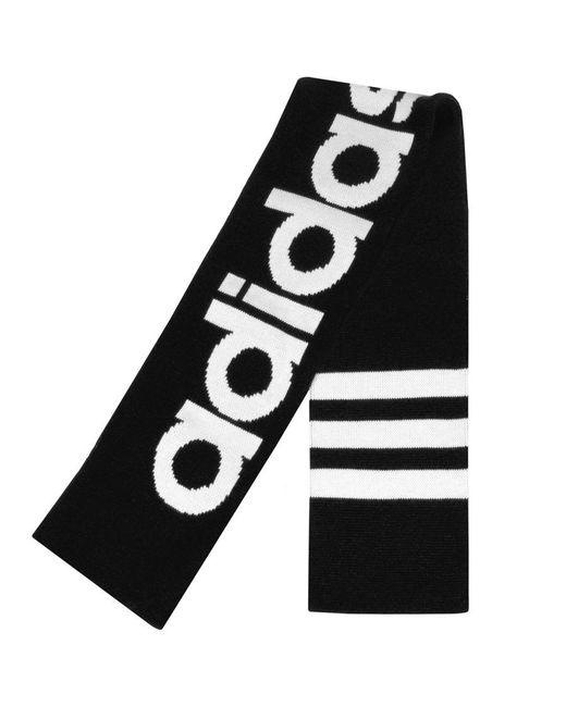 Adidas - Originals Logo Scarf Black for Men - Lyst