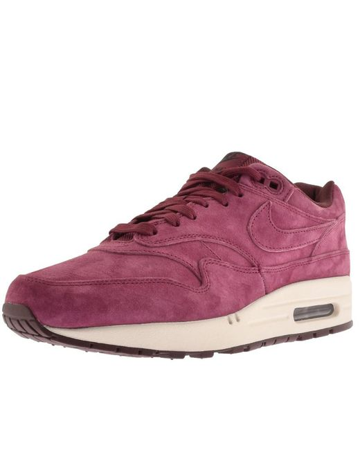new products 2b58d 2d449 Nike - Purple Air Max 1 Premium for Men - Lyst ...