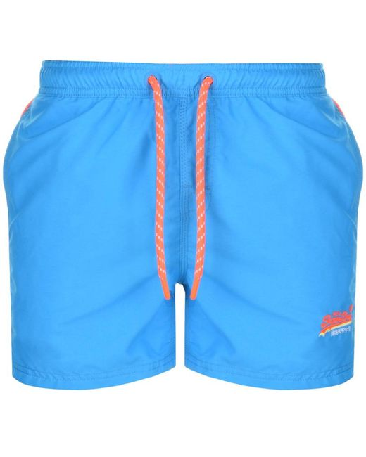 Superdry | Beach Volley Swim Shorts Blue for Men | Lyst