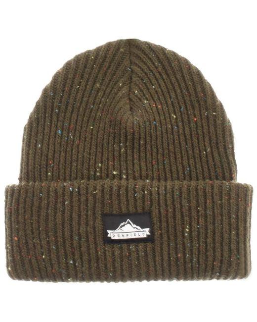 Penfield | Harris Beanie Hat Green for Men | Lyst