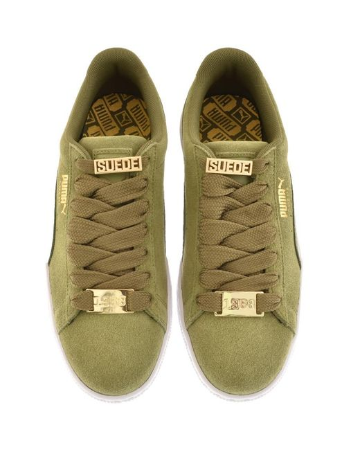 PUMA Suede Classic Bboy Trainers Green in Green for Men - Lyst 3861a631d
