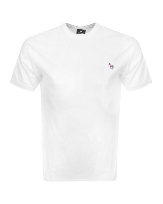 Paul Smith - Ps By Regular Fit T Shirt White for Men - Lyst