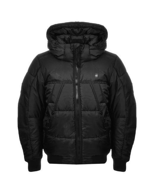 G-Star RAW | Hooded Whistler Jacket Black for Men | Lyst