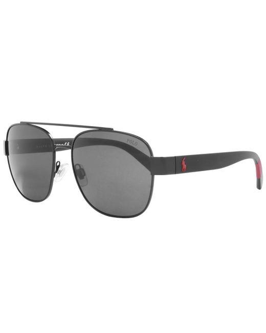Ralph Lauren - Polo Player Sunglasses Black for Men - Lyst
