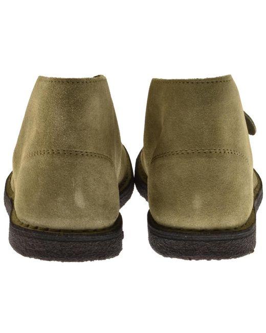 d0e9730cce0a ... Pretty Green - Green Desert Boots Khaki for Men - Lyst ...