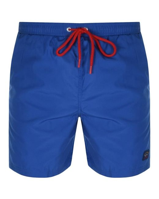 Paul & Shark Blue Paul And Shark Swim Shorts for men