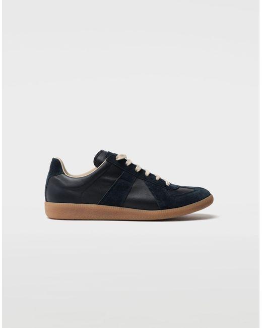 bc793f1c4757 Maison Margiela - Blue Replica Low Top Sneakers for Men - Lyst ...