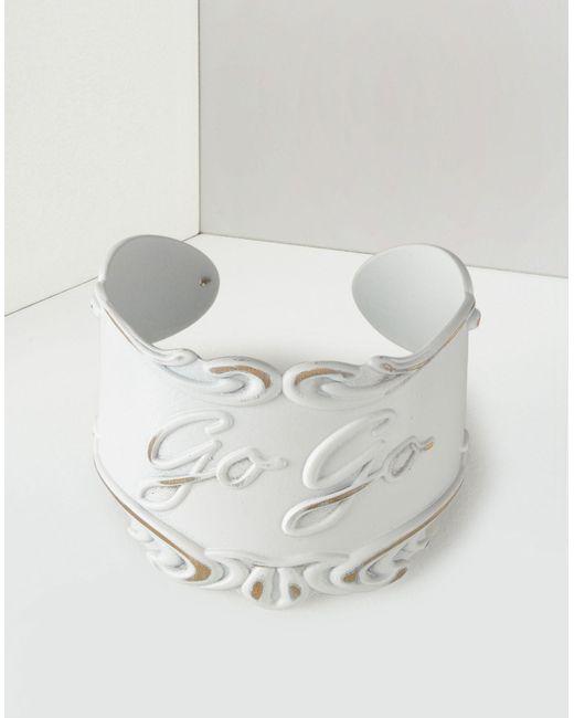 MM6 by Maison Martin Margiela | White Go Go Bracelet | Lyst