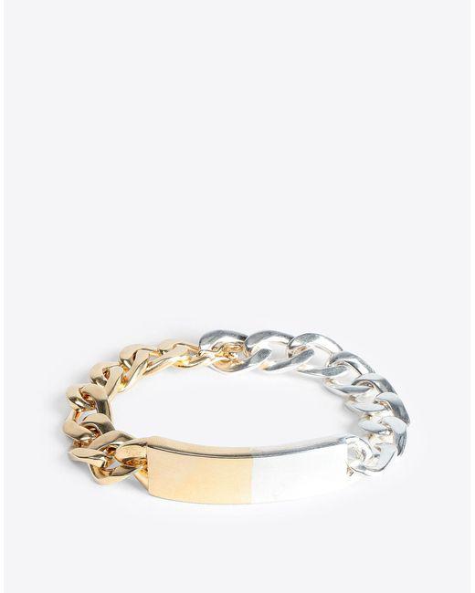 Maison Margiela - Metallic Two-tone Anonymous Bracelet for Men - Lyst