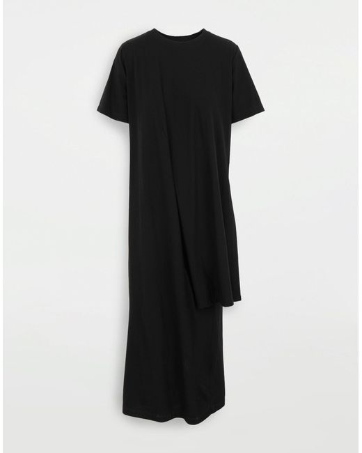 4e930721316 MM6 by Maison Martin Margiela - Black Layer Dress - Lyst ...