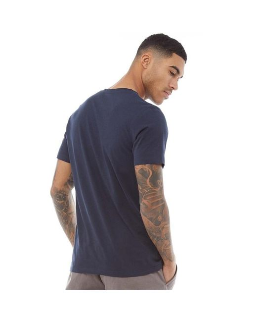ff65aaaaa ... Jack & Jones - Blue Traffic T-shirt Total Eclipse 2 for Men ...