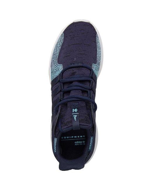 release date: 94ff0 74b67 ... Adidas Originals - X Parley Eqt Support Adv Ck Trainers Legend Inkblue  Spirit ...