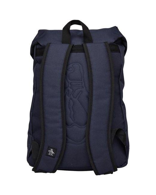 ... Original Penguin - Blue Torrent Backpack Navy vintage Indigo for Men -  Lyst 1469e0a872b16