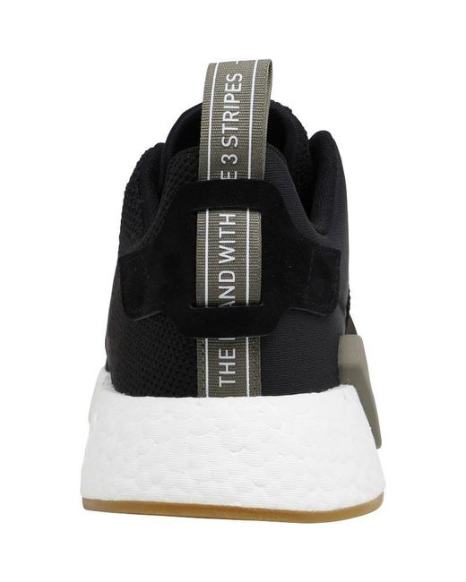 318fcb1cc ... Adidas Originals - Nmd r2 Trainers Black utility Black trace Cargo for  Men - Lyst ...