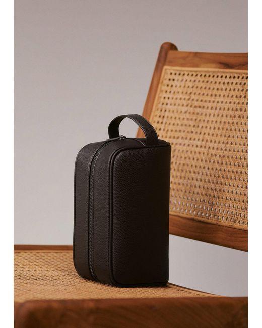 31fe772f8b9 ... Mango - Brown Wristlet Cosmetic Bag for Men - Lyst ...