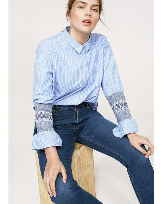 Violeta by Mango - Blue Jeans - Lyst