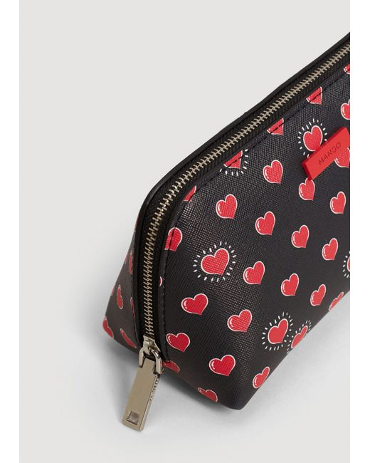 Mango | Red Printed Cosmetic Bag | Lyst