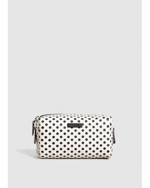 Mango - White Polka-dot Print Cosmetic Bar - Lyst