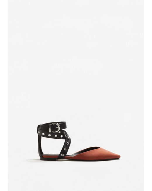 Mango | Multicolor Ankle-cuff Pointed Toe Shoes | Lyst