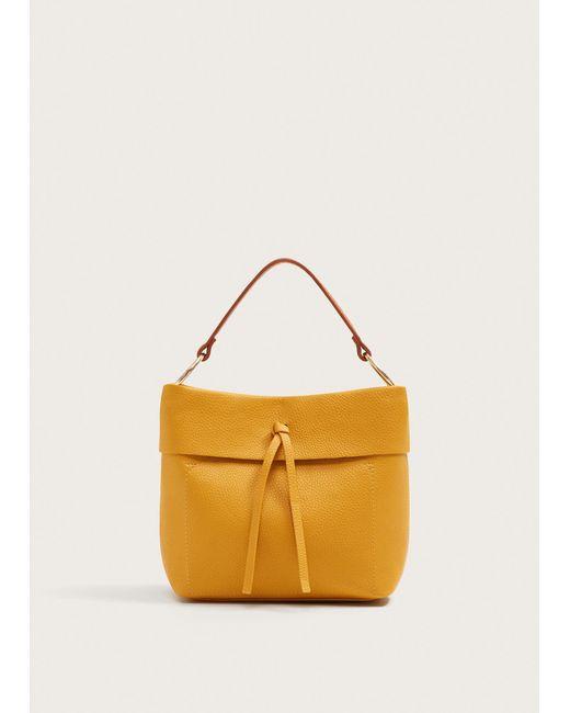 Violeta by Mango - Multicolor Pebbled Mini Shopper Bag - Lyst