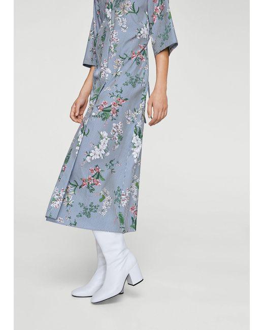 Mango | Blue Dress | Lyst