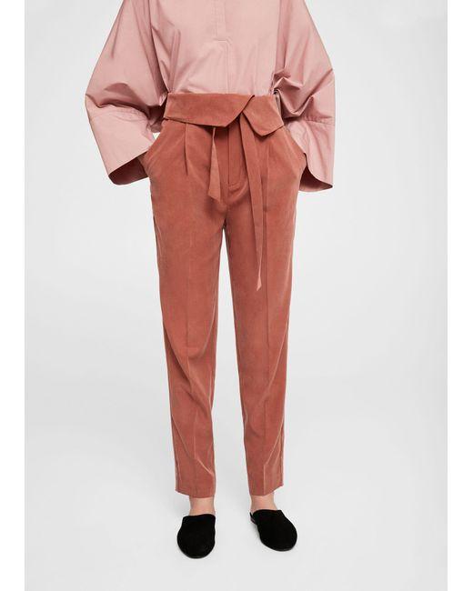 Mango | Multicolor Trousers | Lyst