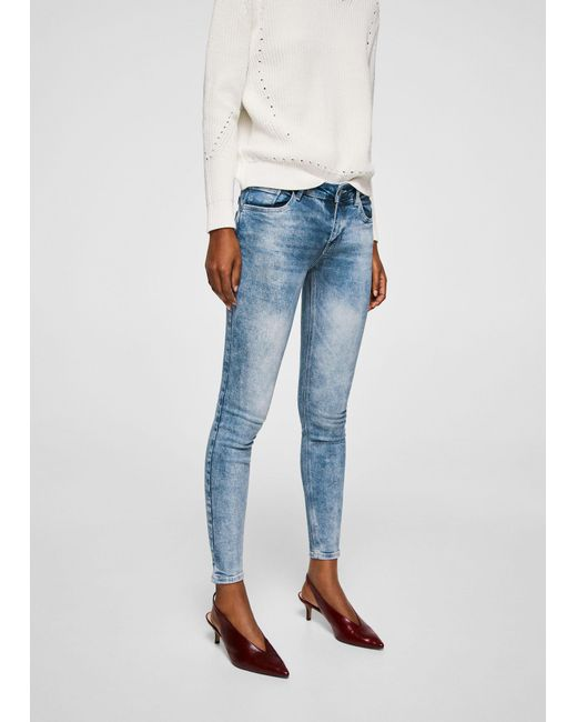 Recommend For Sale Clearance Store Cheap Price MANGO Kim skinny push-up jeans Latest For Sale Wiki Online 1n085