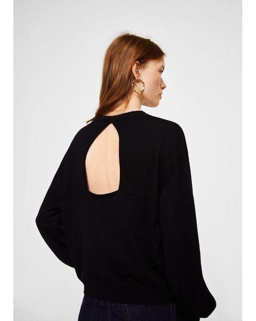 Mango | Black Sweater | Lyst